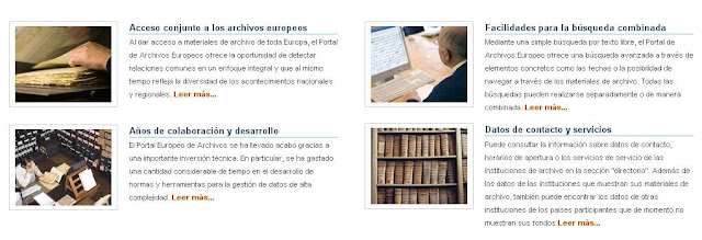 Archives Portal Europe - Portal de Archivos Europeo.