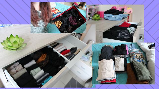 La méthode KonMari (Marie Kondo) pour ranger ses vêtements