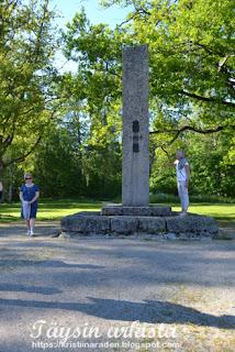 Vaasa 1808 taistelun muistomerkki