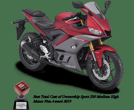 Spesifikasi Yamaha R25 V2 ABS