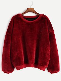 http://es.shein.com/Burgundy-Dropped-Shoulder-Seam-Fuzzy-Sweatshirt-p-326581-cat-1773.html