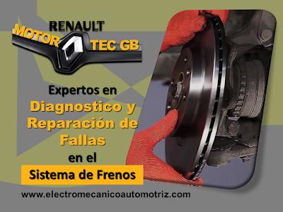 Servicio de Frenos Renault Motortec GB