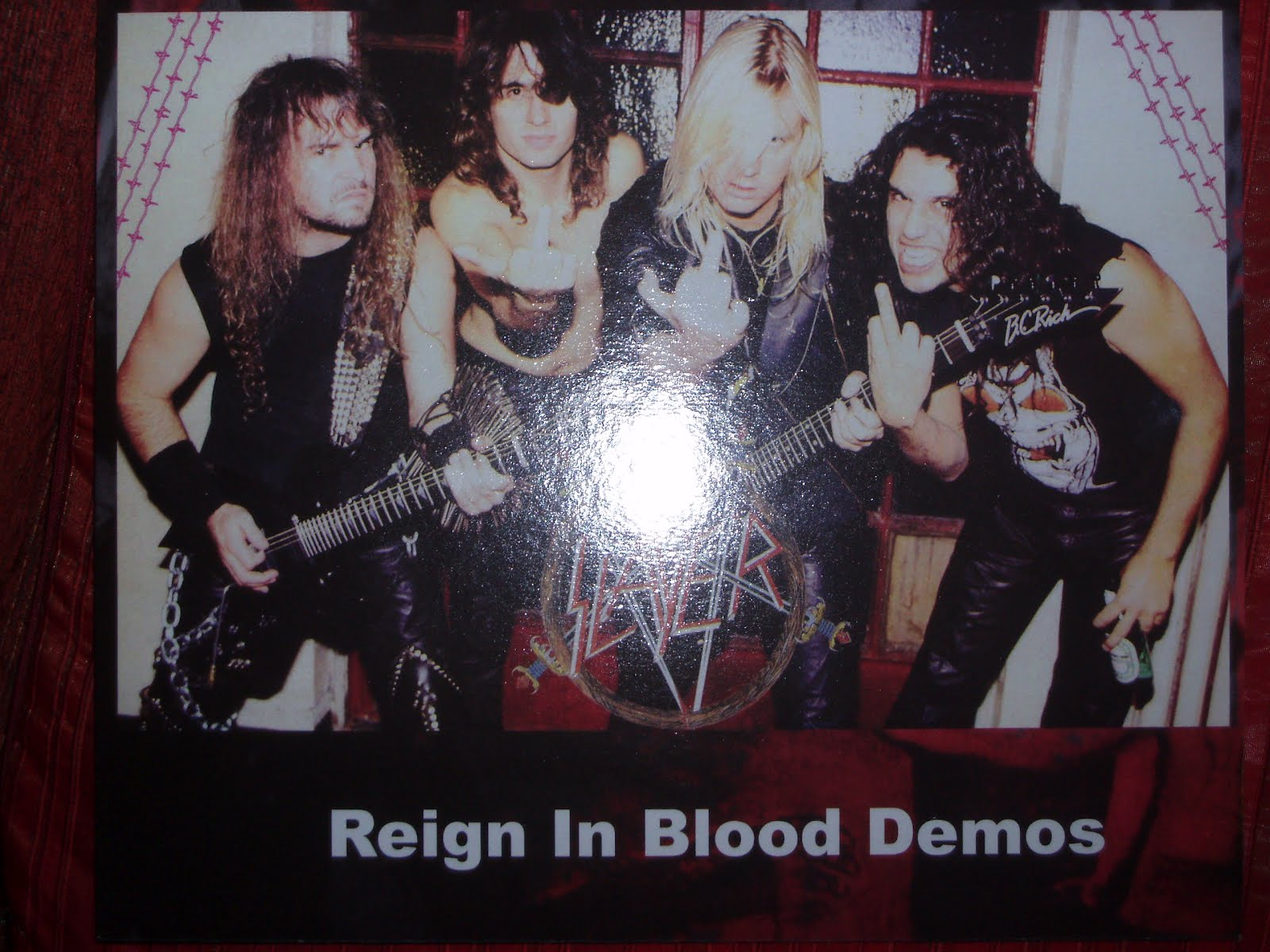 Couch Slouch Slayer Reign In Blood Demos Lp