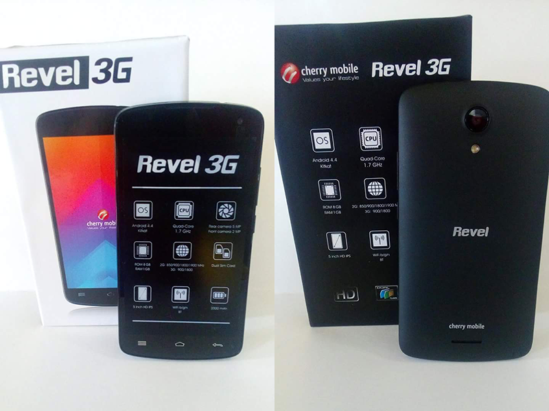 Cherry Mobile Revel 3G Spotted, Priced At 2995 Pesos