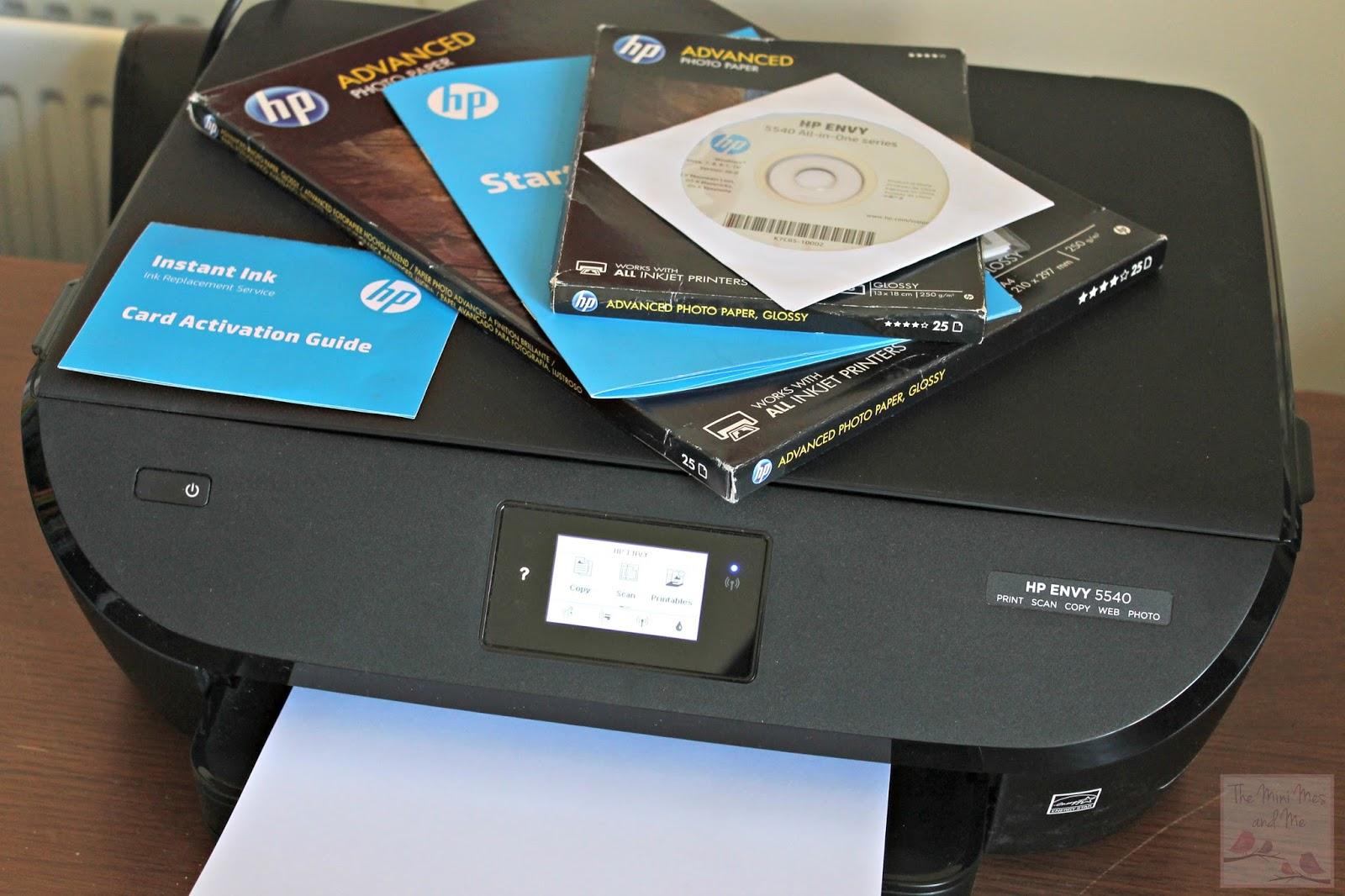 Hp Envy 5540 Printer And Instant Ink Review The Mini Mes And Me