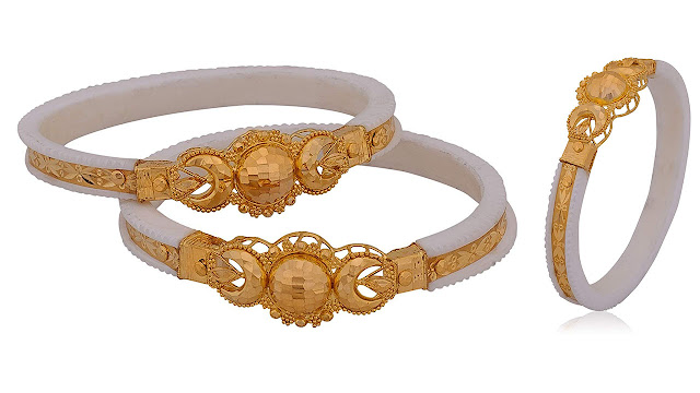 Senco Gold 22k Yellow Gold Bangle