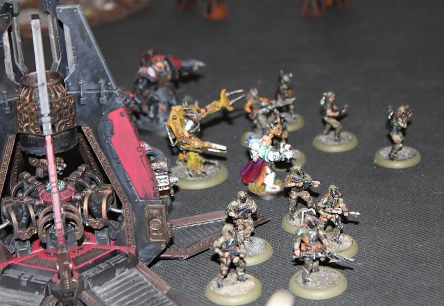 Warhammer 40k battle report - Ambush - Space Marines and Genestealer Cults.