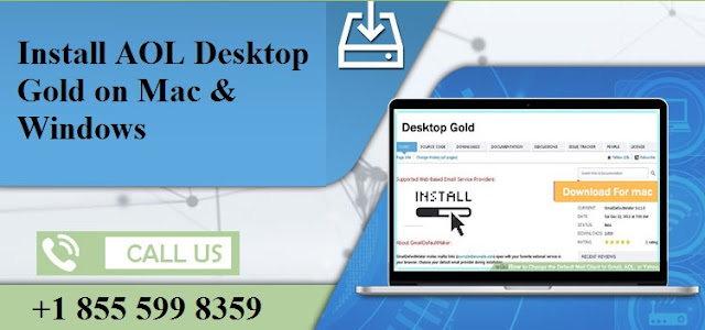 Install AOL Gold Desktop