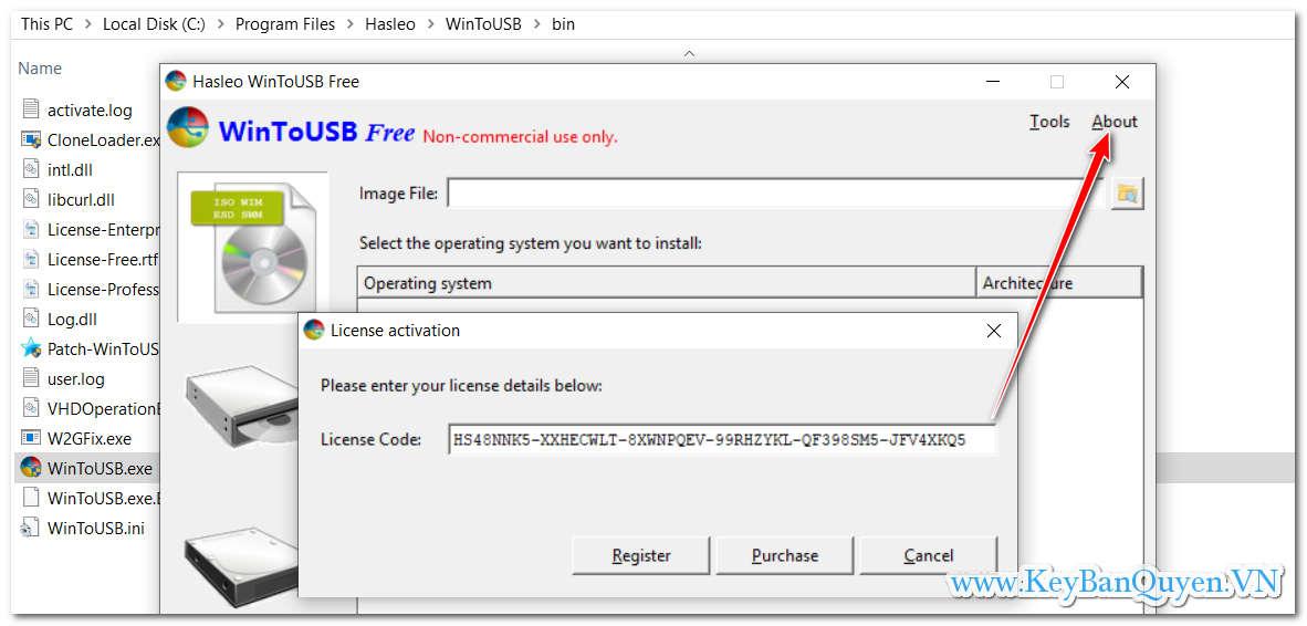 Tải WinToUSB 5.0 Full Key , Phần mềm tạo Windows 7,8 và 10 chạy trực tiếp trên USB .
