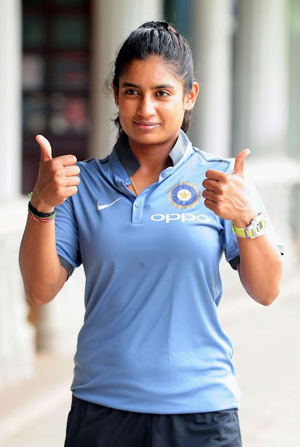 Indian Women's Cricketer Mithali Raj High Resolution Pictures