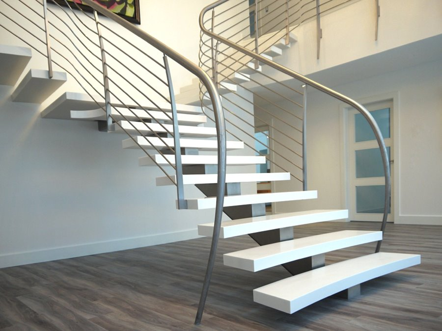 Lastest Home Designs New Ladder Designs For Home   Steel Ladder Design For Home   Beautiful   Interior   Custom   Steel Staircase   Loft Ladder