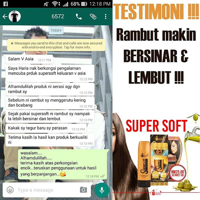 Testimoni Supersoft V'asia