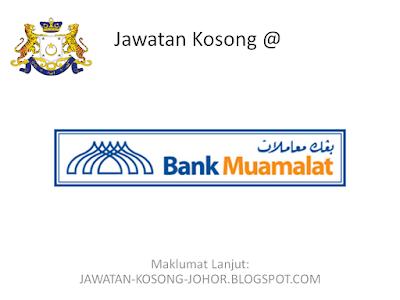 Jawatan Kosong Di Bank Muamalat