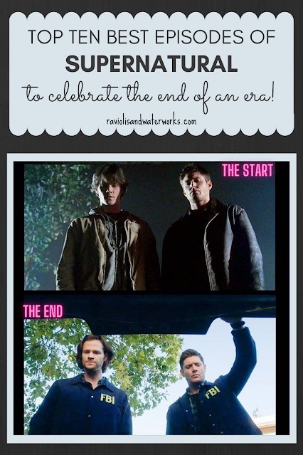 supernatural from first season to the last sam and dean