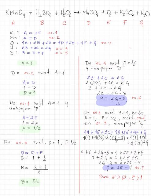 KMnO4 + H2SO4 + H2O2 → MnSO4 + O2 + k2SO4 + H2O