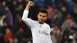 Casemiro says he like thinking like a coach and he has been analyzing Man City's style
