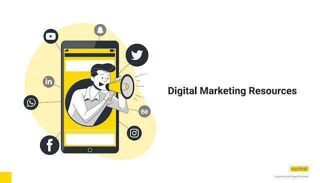 Digital Marketing Resources by Maulana Sakti
