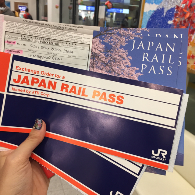 JR Pass Singapore