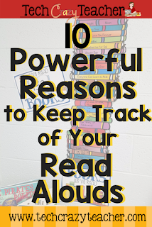 10 Powerful Reasons to Keep Track of Your Classroom Read Alouds