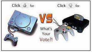 Playstation 1 dan Nintendo 64