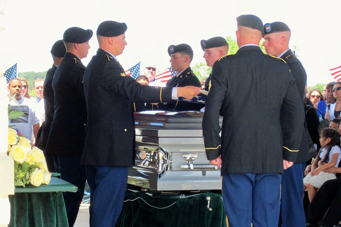 Standing for those who stood for us: Sgt. Juan P. Navarro ...
