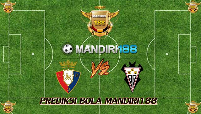 AGEN BOLA - Prediksi Osasuna vs Albacete 8 September 2017