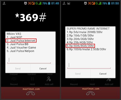 Cara mengembalikan PAKET INTERNET SUPER KUOTA di Telkomsel yang hilang