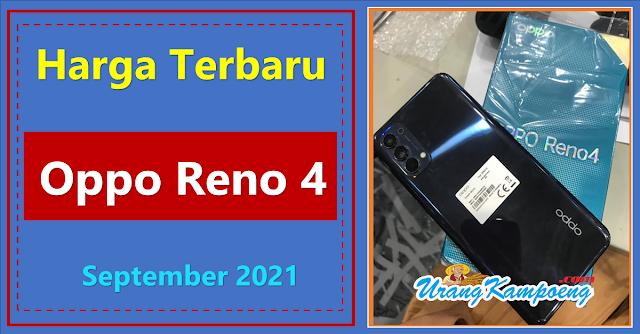 Harga Terbaru Oppo Reno4  2021