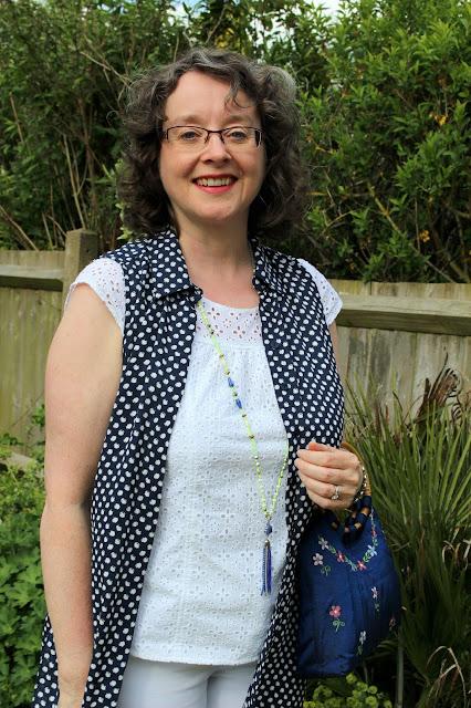 Dorothy Perkins Petite Maxi Shirt, Embroidery Top & Bamboo Handle Embroidered Silk Bag   Petite Silver Vixen