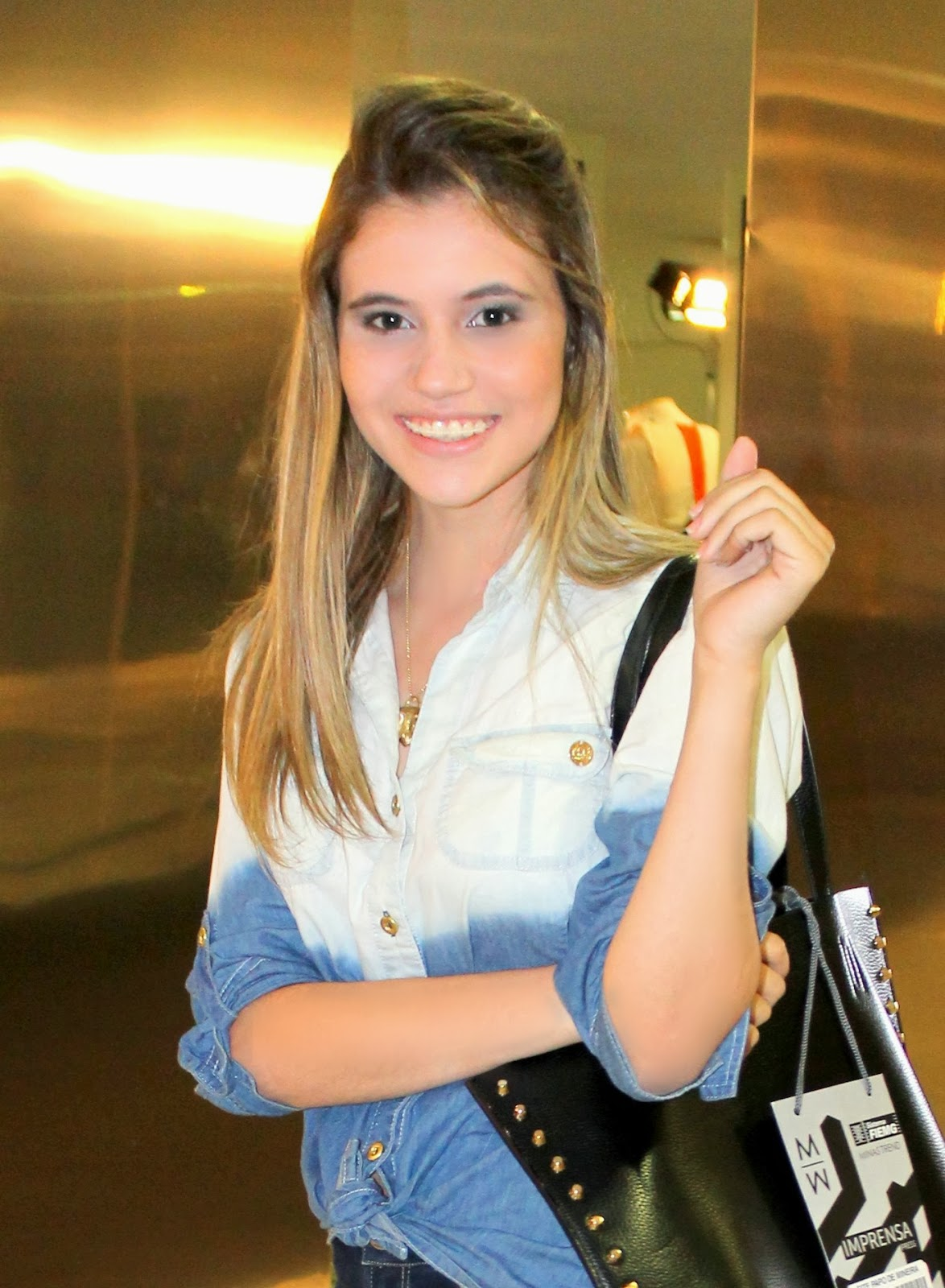 Look all jeans - Calça e Camisa Jeans