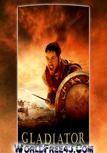 Poster Of Gladiator (2000) In Hindi English Dual Audio 300MB Compressed Small Size Pc Movie Free Download Only At worldfree4u.com