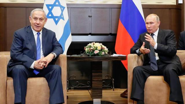 """Rusia desmiente """"promesa"""" de Putin para apoyar a Israel en la ONU"""