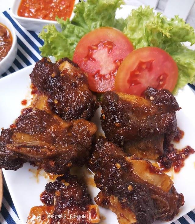 Resep Iga Bakar Sapi Special - Resep Olahan Daging Sapi