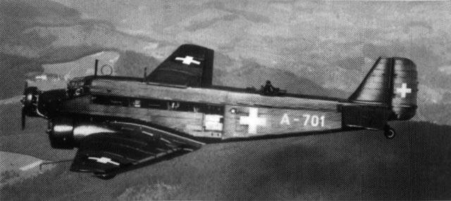 Swiss Air Force Junkers Ju 52 in World War II worldwartwo.filminspector.com