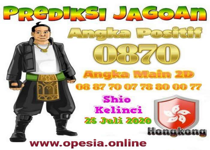 Kode syair Hongkong Sabtu 25 Juli 2020 218
