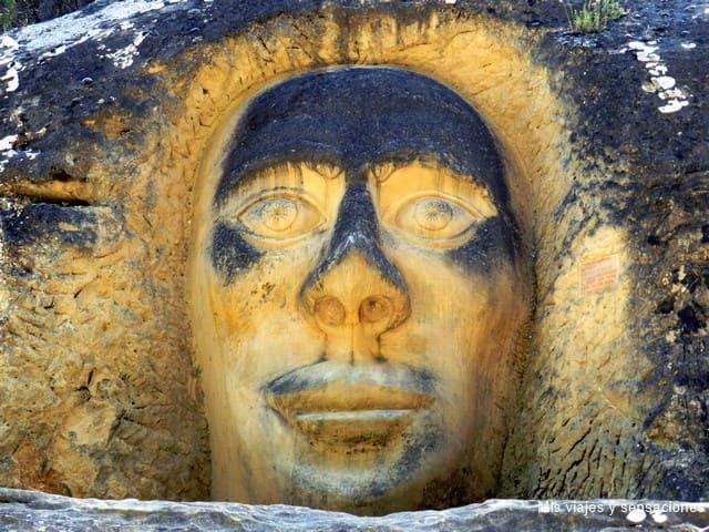 Las ruta de las caras, Buendía