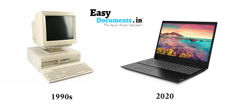 Computer in 90s vs 2020