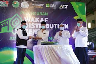 Kolaborasi Global Wakaf dan YP3I Hadirkan Wakaf Distribution Center di Jombang