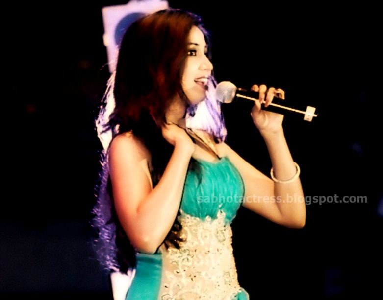 Shreya Ghoshal Hot Navel,Cleavage And Ampit Show Sexy Picture Collection-7301