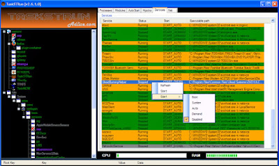 mematikan windows services - Monitoring Windows Service dan Performance Menggunakan TaskSTRun