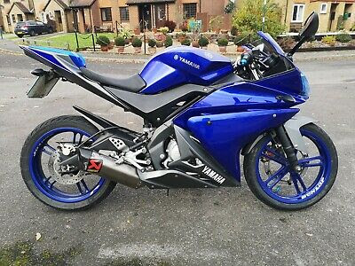 Yamaha YZF R125 for sale Ebay UK