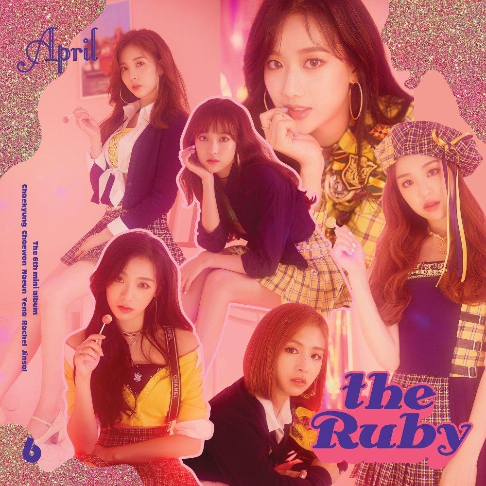 APRIL – APRIL 6th Mini Album `the Ruby`