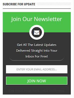 Cara Memasang Kotak Berlangganan Email (Subscribe Box) Di Blog