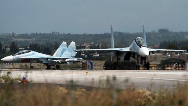 Rusia intercepta objetivos desconocidos en espacio aéreo sirio