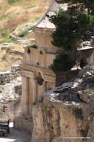 Oud Graf Van Absalom In Jeruzalem