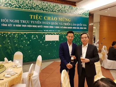 Nextfarm tiếp gặp riêng của Ủy viên Bộ Chính trị, Bí thư Trung ương Đảng, Trưởng Ban Kinh tế Trung ương ông Nguyễn Văn Bình