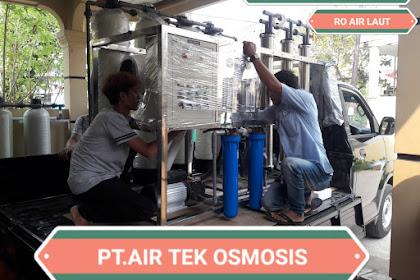 Paket SWRO Kapasitas 10 ton per Hari Lokasi Timor - Timur