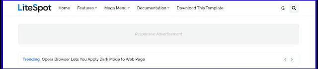 LiteSpot - Responsive News & Magazine Blogger Template Download Premium Version For Free