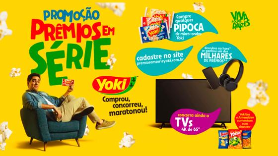 Promoção Prêmios em série Yoki