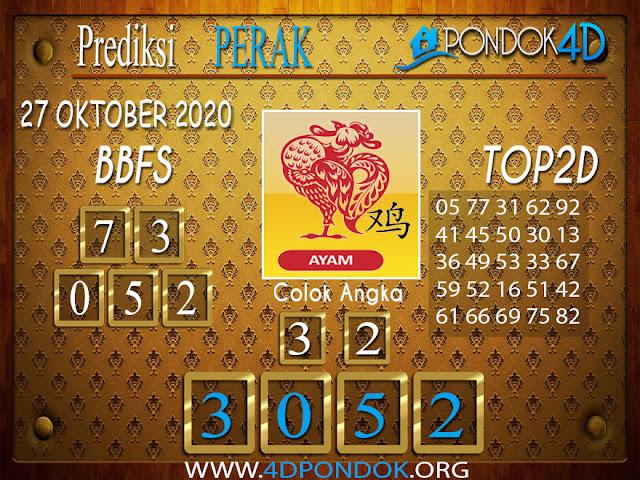 Prediksi Togel PERAK PONDOK4D 27 OKTOBER 2020
